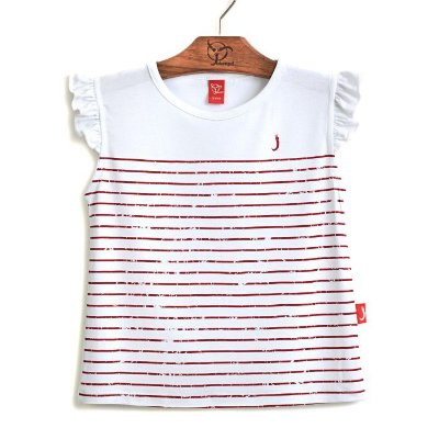 Blusa Infantil Listrinhas Vermelha