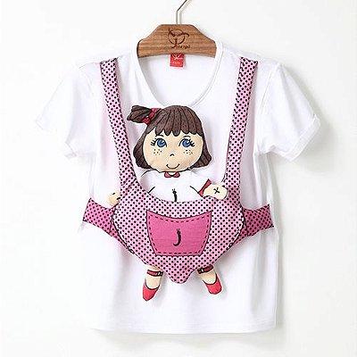 Blusa Infantil Sling Branca