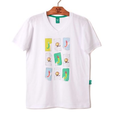 Camiseta Jokenpô  Infantil Memória Branca