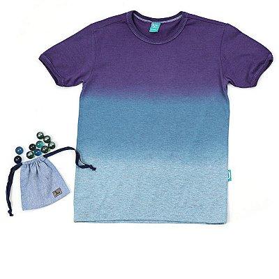 Camiseta Jokenpô Infantil Brinquedo Bolinha de Gude