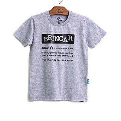 Camiseta Jokenpô Infantil Filho Brincar