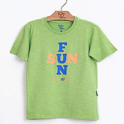 Camiseta Jokenpô Infantil Fun Verde