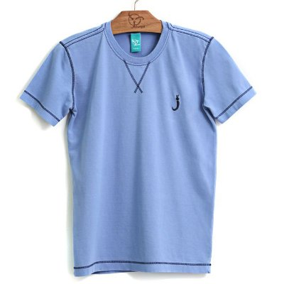 Camiseta Infantil M/C Jok Azul