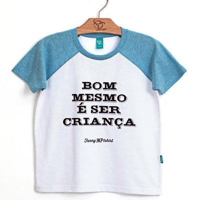 Camiseta Jokenpô Infantil Ser Criança