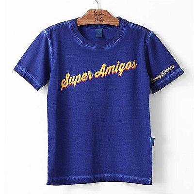Camiseta Jokenpô Infantil Filho Super Amigos