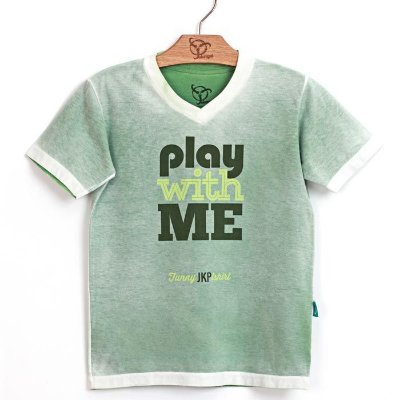 Camiseta Jokenpô Pai Play Verde