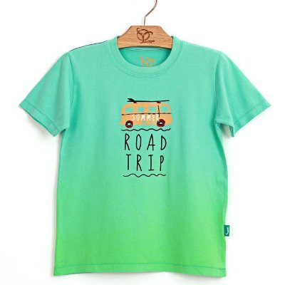 Camiseta Jokenpô Pai Trip Verde