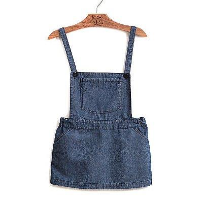 Salopete Infantil Jeans