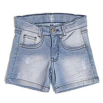 Shorts Jokenpô Infantil Jeans