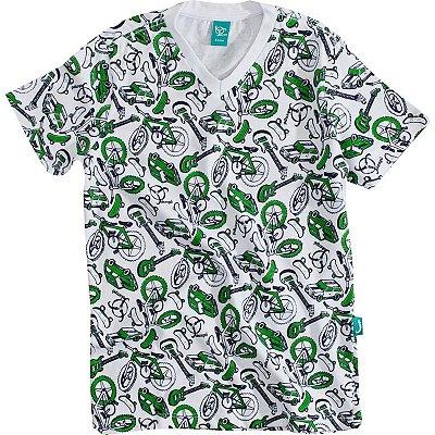 Camiseta Infantil Toys Verde