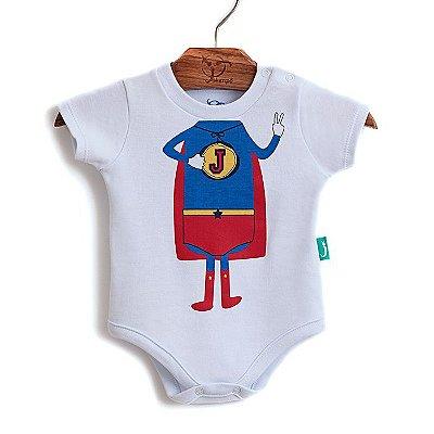 Body Jokenpô Bebê Super Jok Bco/Verm.