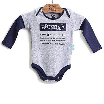 Body Jokenpô Bebê Menino Brincar