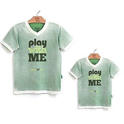 Roupa Pai e Filho Play Verde