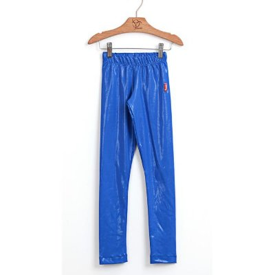 Legging Infantil Brilho Filha Azul
