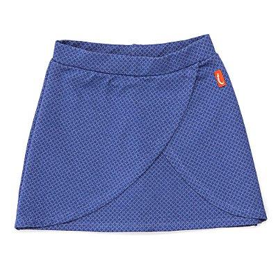 Saia Jokenpô Shorts Infantil Losangos