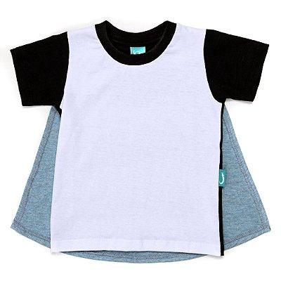 Camiseta Jokenpô Bebê Capa Super