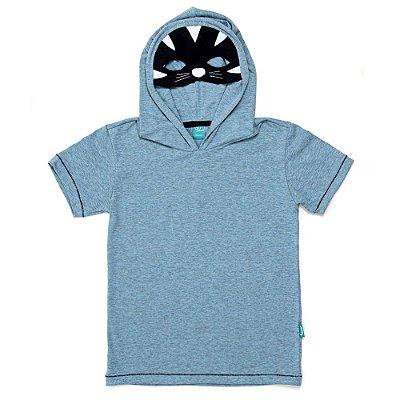 Camiseta Jokenpô Infantil Capuz Tigre