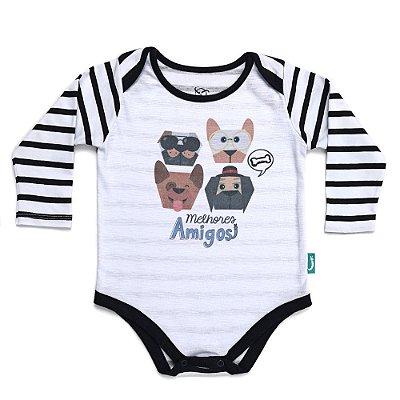 Body Jokenpô Bebê Melhores Amigos