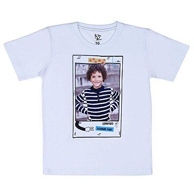 Camiseta Jokenpô Infantil Personalizada