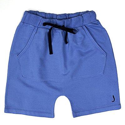 Bermuda Jokenpô Infantil Saruel Azul