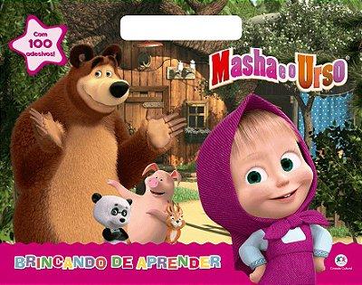 Livro Masha e o Urso - Brincando de Aprender