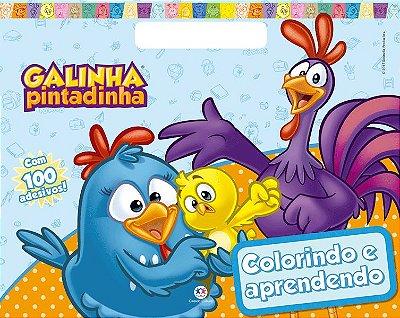 Livro Galinha Pintadinha - Colorindo e Aprendendo