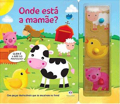 Livro Onde Está A Mamãe?