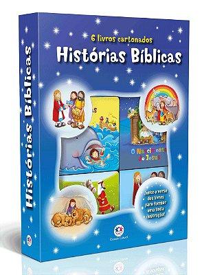 Livro Histórias Bíblicas - Box Com 6