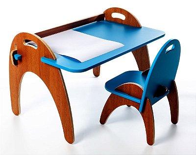 Conjunto Jokenpô/Tauga Infantil Gloop Azul