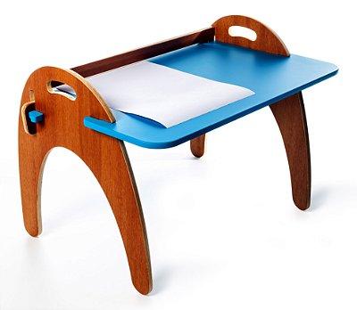 Mesa Jokenpô/Tauga Infantil Gloop Azul