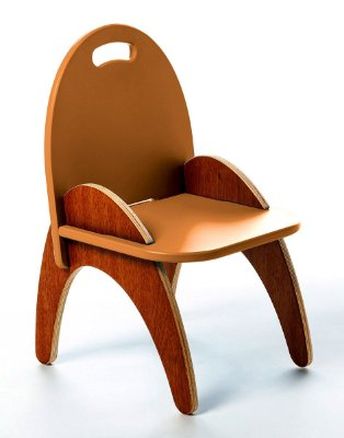 Cadeira Jokenpô/Tauga Infantil Gloop Laranja