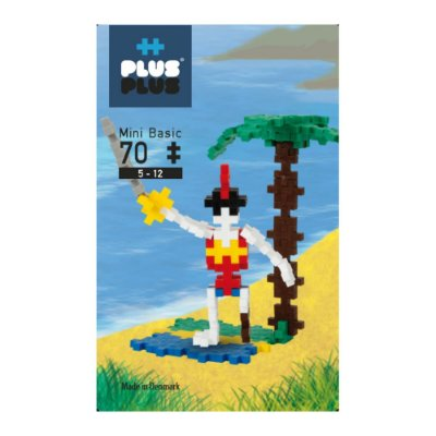 Brinquedo Infantil Jokenpô/Steam Toy Basic Pirate 70 pcs