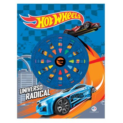 Livro Hot Wheels - Universo Radical