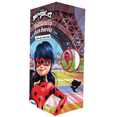 Livro Ladybug - Biblioteca de Heróis