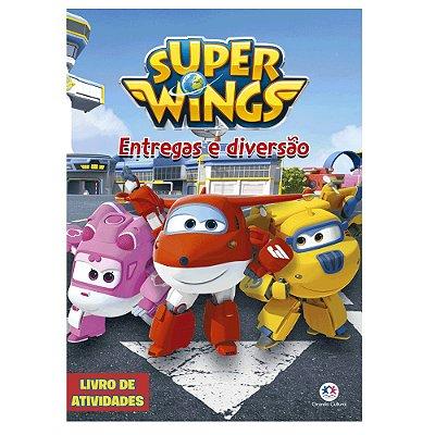 Livro Super Wings - Entregas e Diversão