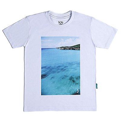 Camiseta Infantil Jokenpô Mar Masculina
