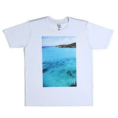 Camiseta Jokenpô Casual Mar Masculina