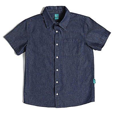 Camisa Infantil Jokenpô Jeans Masculina