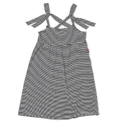 Vestido Infantil Jokenpô Listrado Marinho