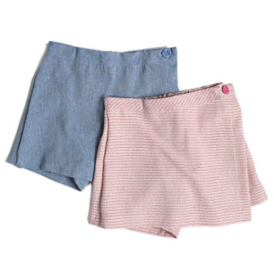 Kit 2 Saias Shorts Infantil Jokenpô