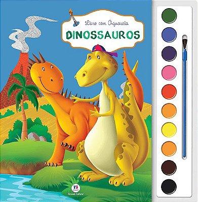 Livro Aquarela Dinossauros