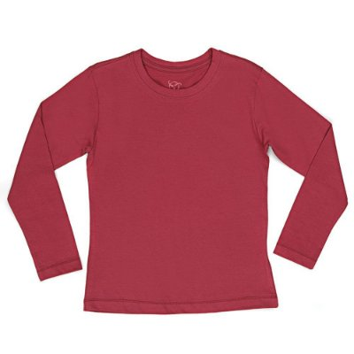 Kit 2 Camisetas Infantil Jokenpô Básica M/L Feminina