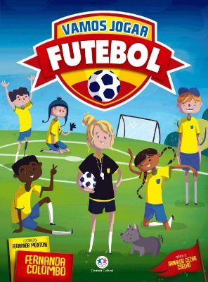 Livro Vamos Jogar Futebol