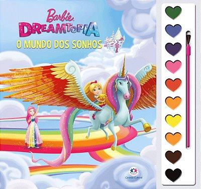 Livro Barbie Dreamtopia - O mundo dos sonhos