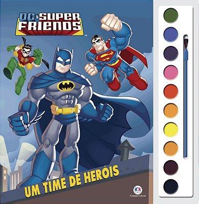 Livro DC Super Friends - Um time de heróis