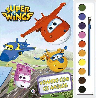 Livro Super Wings - Voando com os amigos