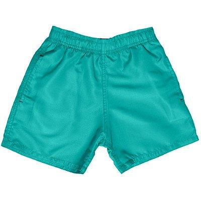 Shorts D'água Infantil Jokenpô Masculino Verde Água