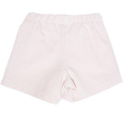 Saia Shorts Infantil Jokenpô Nó Sarja Feminino Cru
