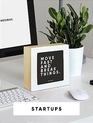 Startups - Frases motivacionais