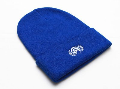 Touca Folly Logo Blue